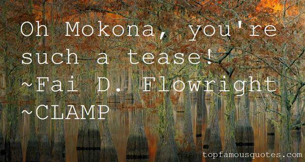 Quotes About Mokona
