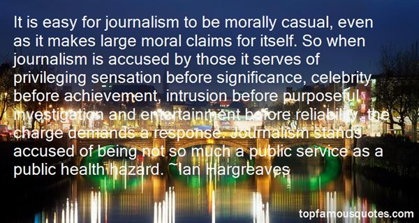 Quotes About Moral Hazard