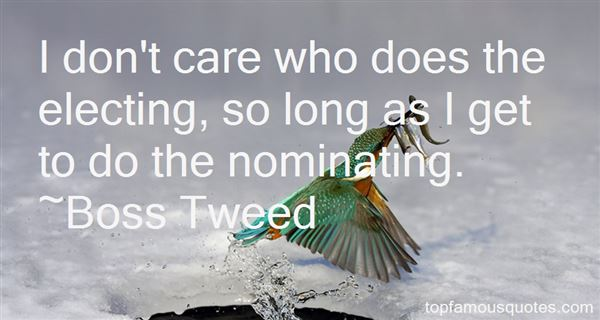 Quotes About Nominating