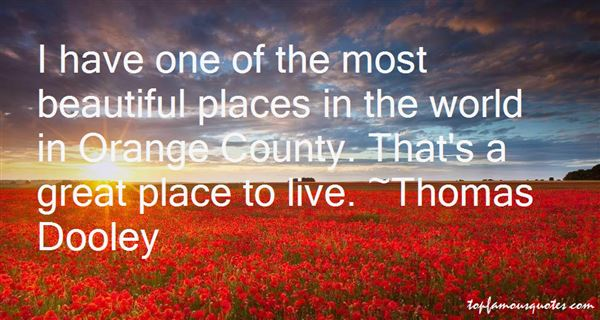 Quotes About Orange County