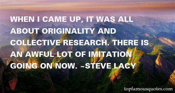 Quotes About Originality And Imitation