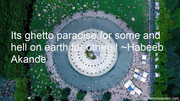 Quotes About Paradise On Earth