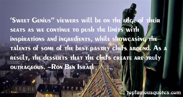 Quotes About Pastry Chefs