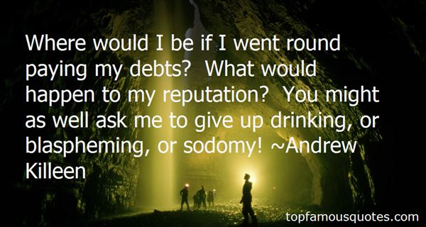 Quotes About Paying Debts