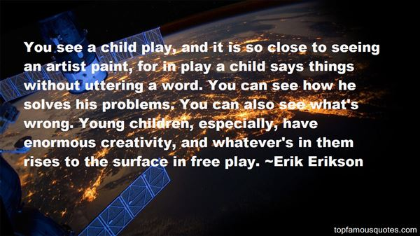 Quotes About Play And Creativity