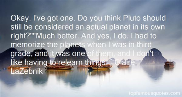 Quotes About Pluto The Planet