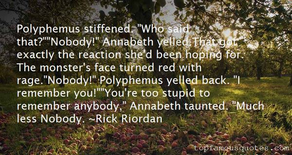 Quotes About Polyphemus