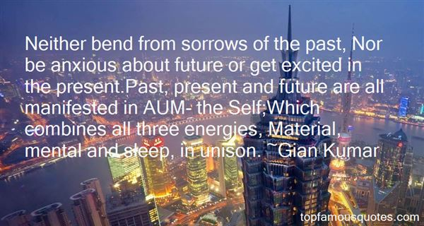 Quotes About Present Past And Future