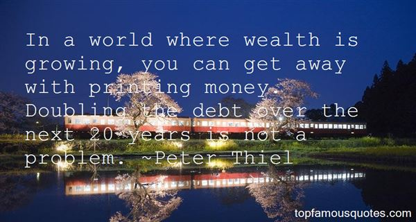 Quotes About Printing Money