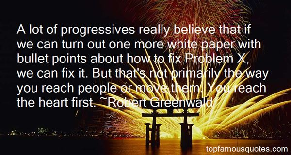 Quotes About Progressives