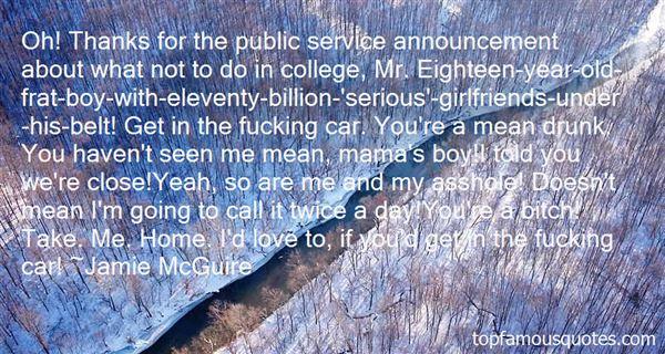 Quotes About Public Service Announcement