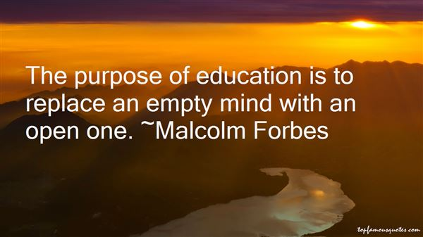 Quotes About Purpose Of Education