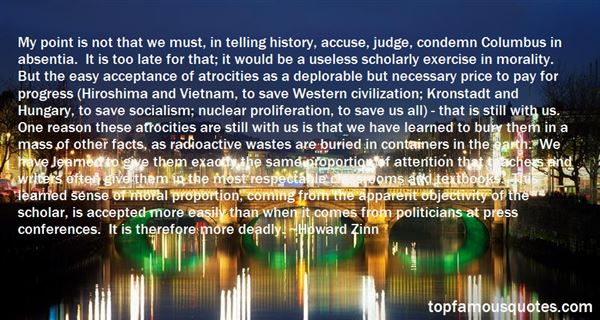 Quotes About Radioactive Waste