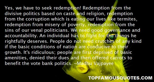 Quotes About Redemption And Sins