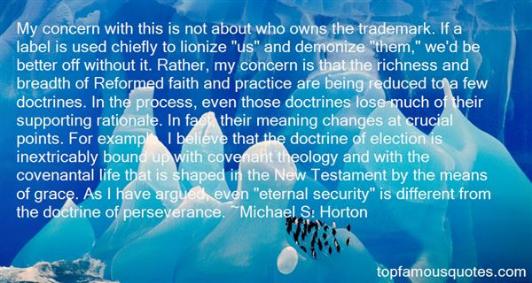 Quotes About Reformed Theology