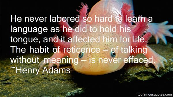 Reticence Quotes: best 17 famous quotes about Reticence