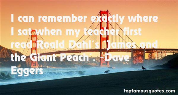 Quotes About Roald Dahl