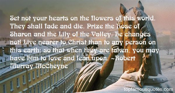 Quotes About Rose Of Sharon