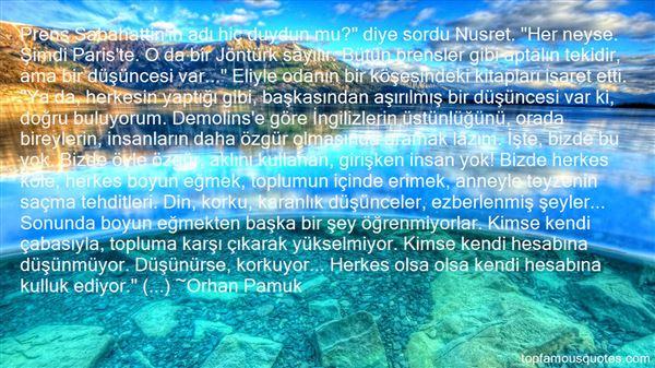Quotes About Sabahattin
