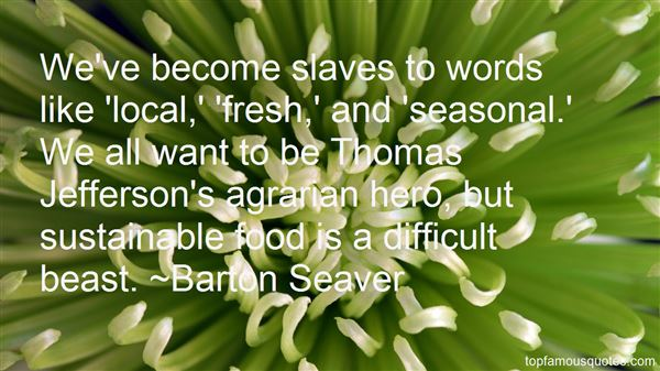 Quotes About Seasonal Food
