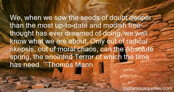 Quotes About Seeds Of Doubt