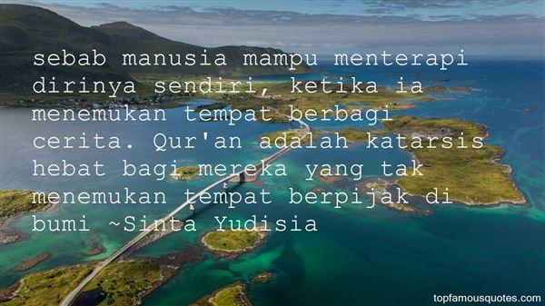 Quotes About Sendiri
