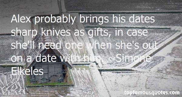 Quotes About Sharp Knives