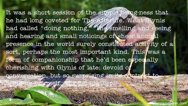 Quotes About Short Companionship