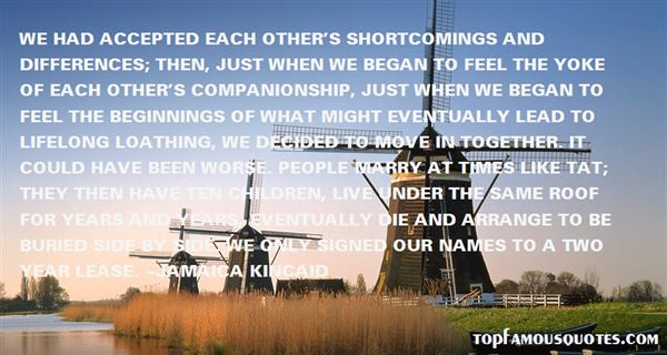 Quotes About Short Companionship