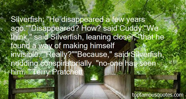 Quotes About Silverfish