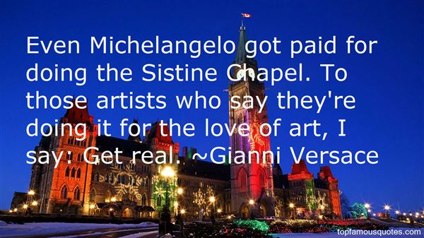 Quotes About Sistine Chapel