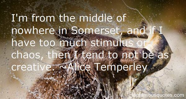 Quotes About Somerset