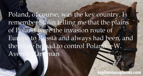 Quotes About Stalin Poland