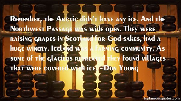 Quotes About The Northwest Passage
