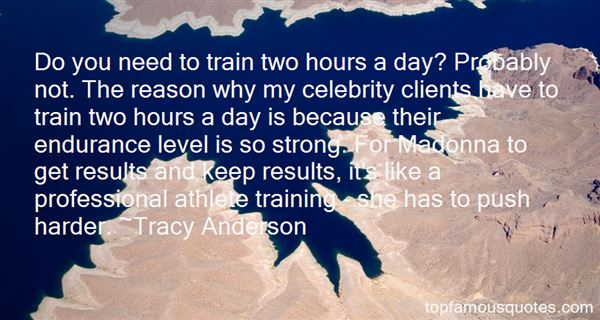 Quotes About Training Harder