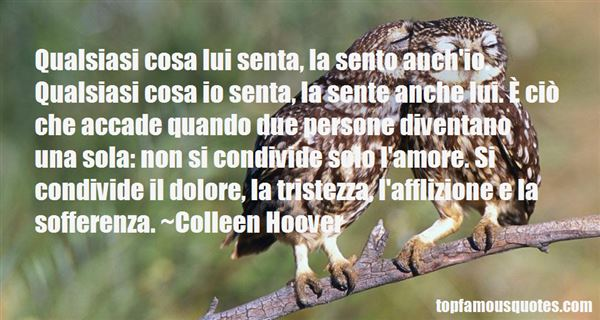 Quotes About Tristezza