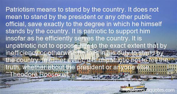Quotes About Unpatriotic