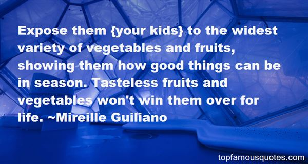 Quotes About Vegetables And Fruit