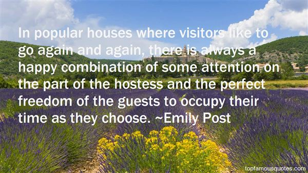 Quotes About Visitor