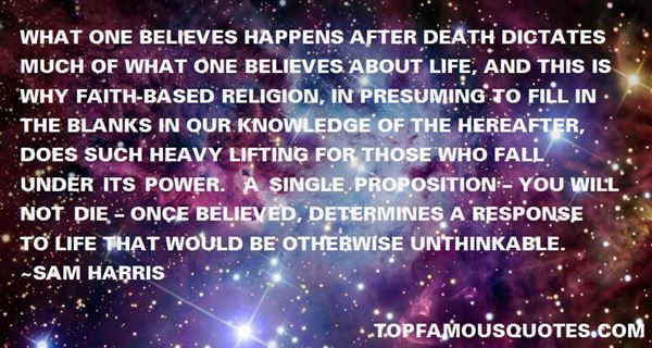 Quotes About What Happens After Death
