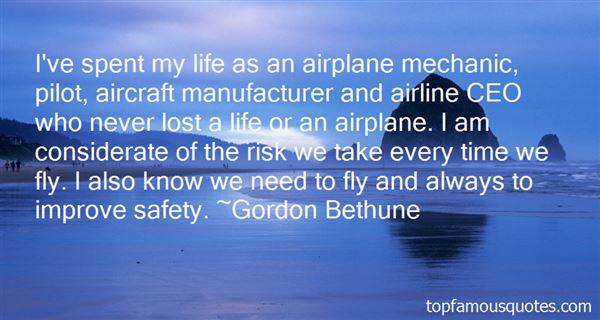 Quotes About Aircraft Safety