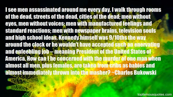 Quotes About Assassinated