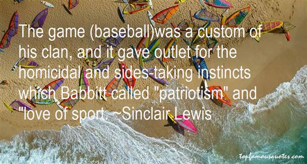 Quotes About Baseball And Love