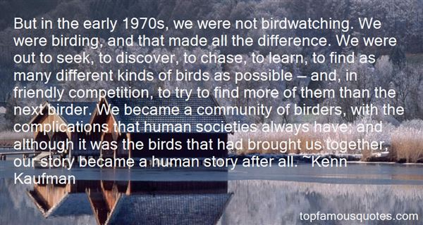 Quotes About Birding