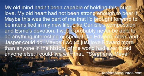 Quotes About Carlisle And Esme