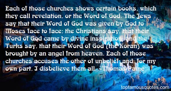 Quotes About Christian Unbelief