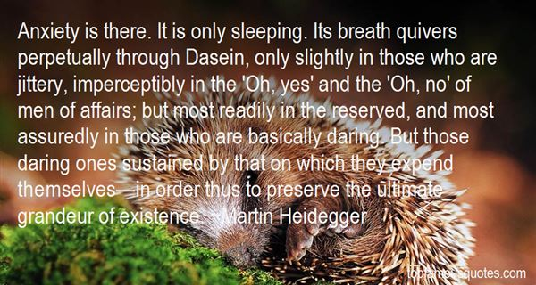 Quotes About Dasein