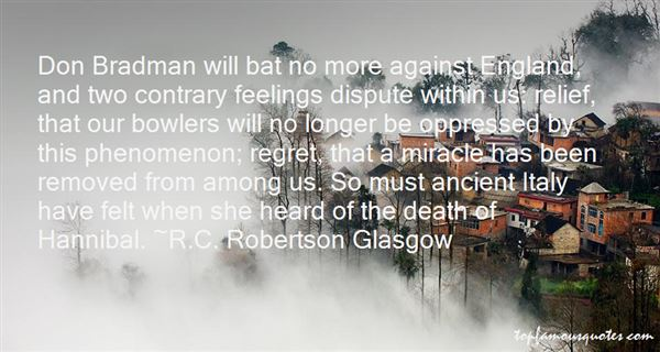 Quotes About Don Bradman