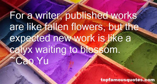 Quotes About Fallen Flowers