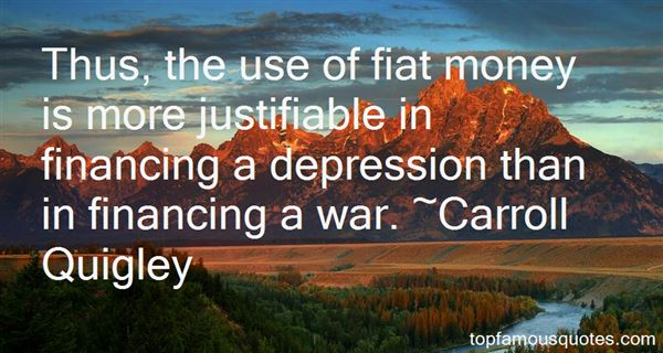 Quotes About Fiat Money
